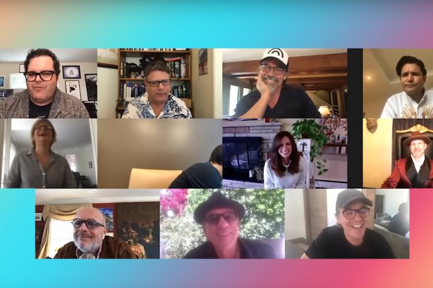 """Le casting des """"Goonies"""" déjà réuni en avril 2020 pour lever des fonds"""