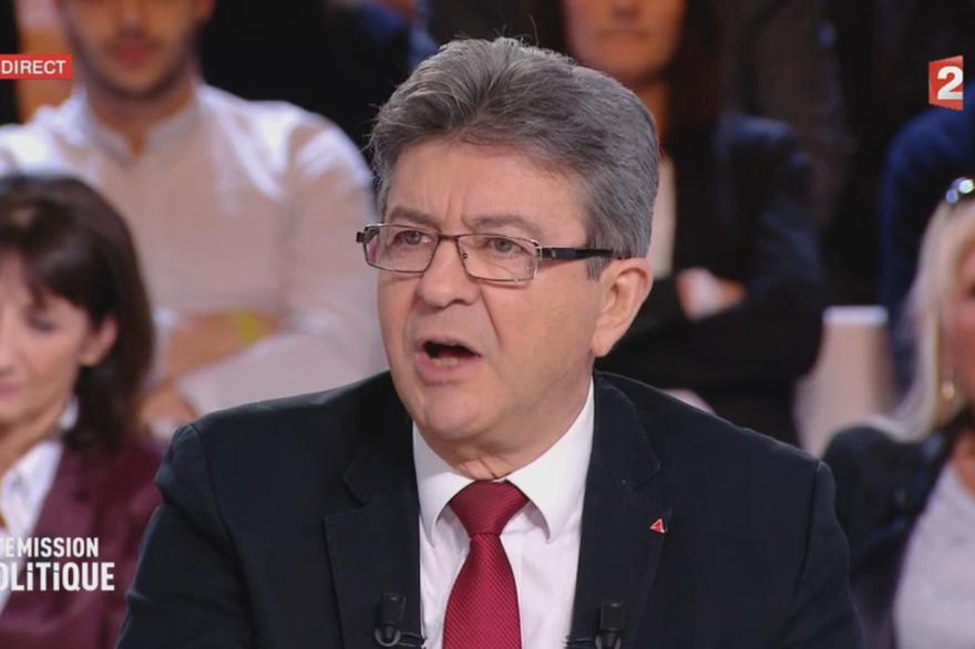 jean-Luc Mélenchon dans l'Émission politique sur France 2