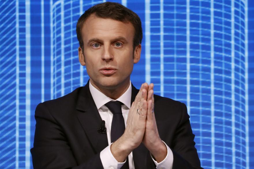 Emmanuel Macron, le 23 février 2017