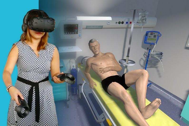 La réalité virtuelle pour apprendre à soigner / Simforhealth