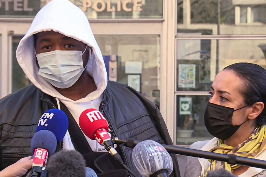 Michel Zecler, producteur de musique, a été tabassé par des policiers samedi dernier.