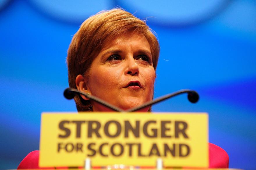 La Première ministre écossaise Nicola Sturgeon souhaite organiser un référendum pour l'indépendance de la province