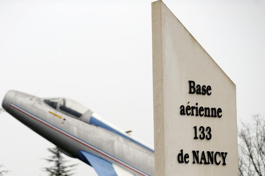 L'entrée de la base aérienne 133 de Nancy-Ochey (illustration)