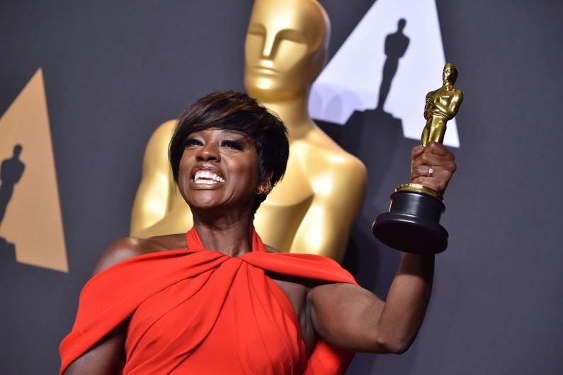 Viola Davis récompensée aux Oscars 2017