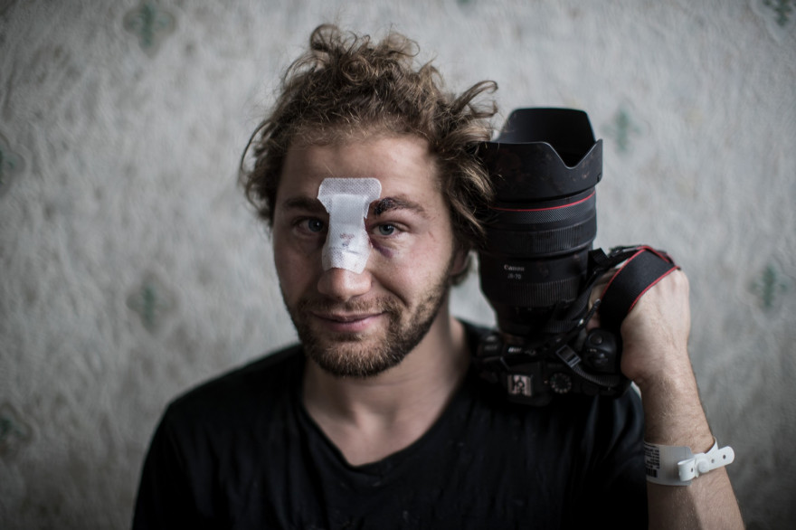 Ameer Al-Halbi est photographe pour l'AFP.