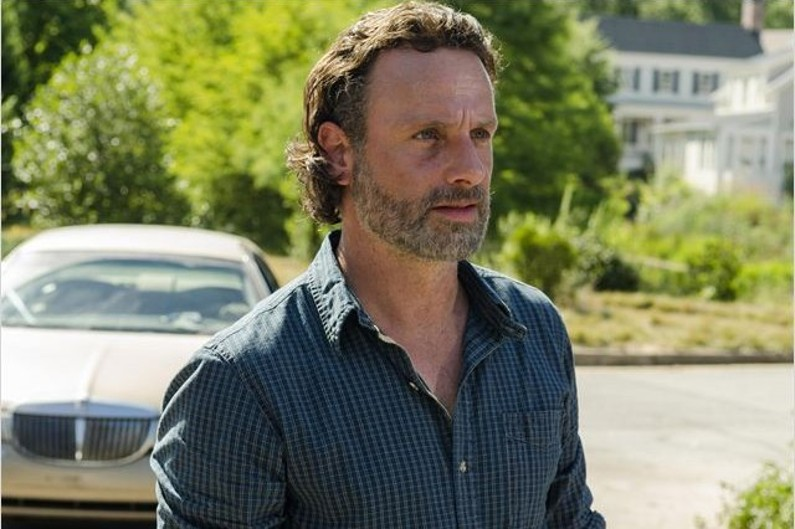 "Andrew Lincoln incarne Rick dans ""The Walking Dead"""