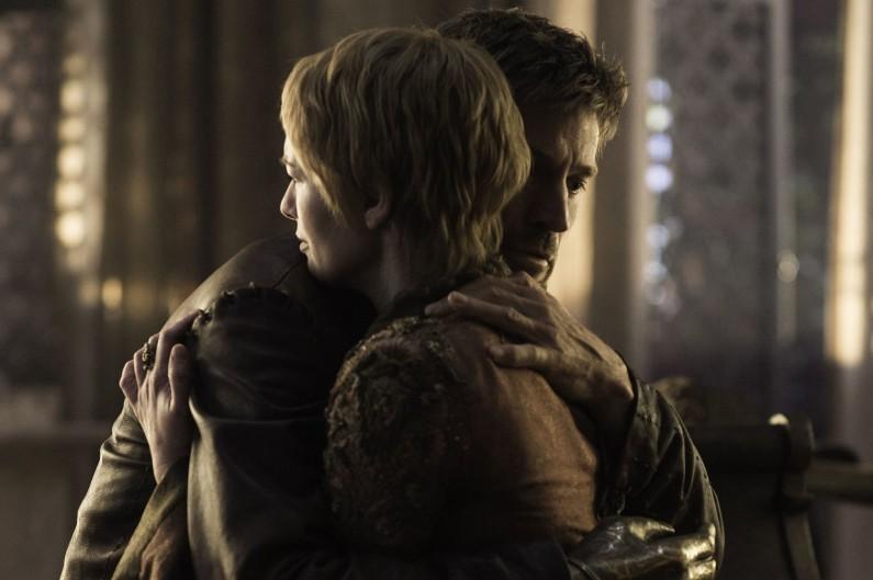"""Cersei et Jaime Lannister dans la saison 6 de """"Game of Thrones"""""""