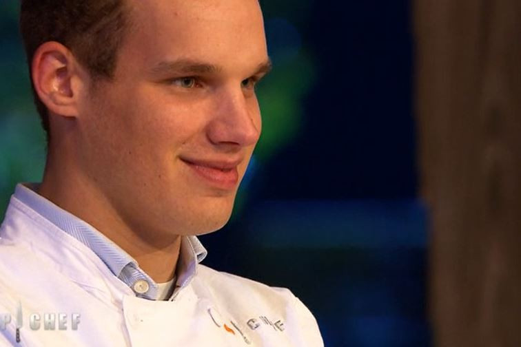 """Maximilien quitte les cuisines de """"Top Chef"""" après huit semaines de compétition"""