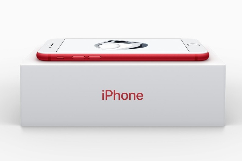 Apple lance un iPhone 7 rouge