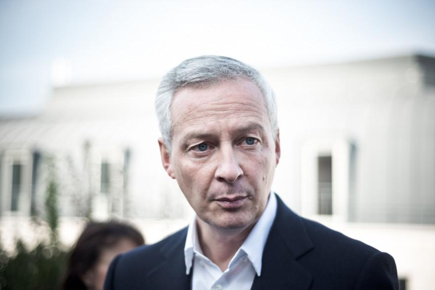 Bruno Le Maire à Paris le 13 octobre 2016.