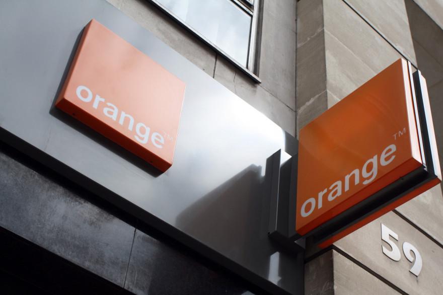 Une enseigne Orange