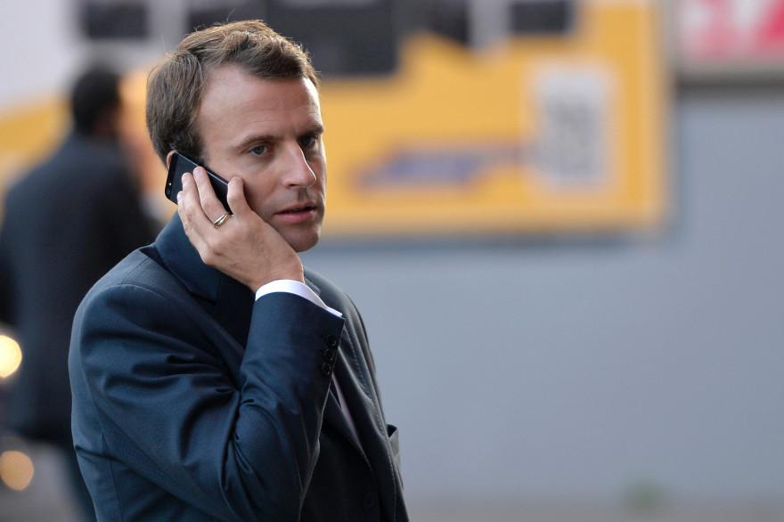 Emmanuel Macron à Paris, le 3 octobre 2014 à