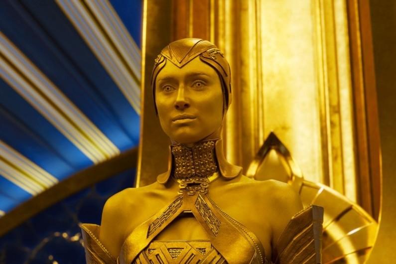 """Ayesha dans """"Les Gardiens de la Galaxie 2"""""""
