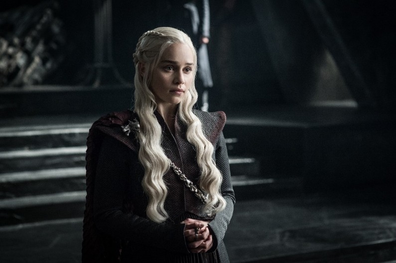 "Daenerys Targaryen dans la saison 7 de ""Game of Thrones"""