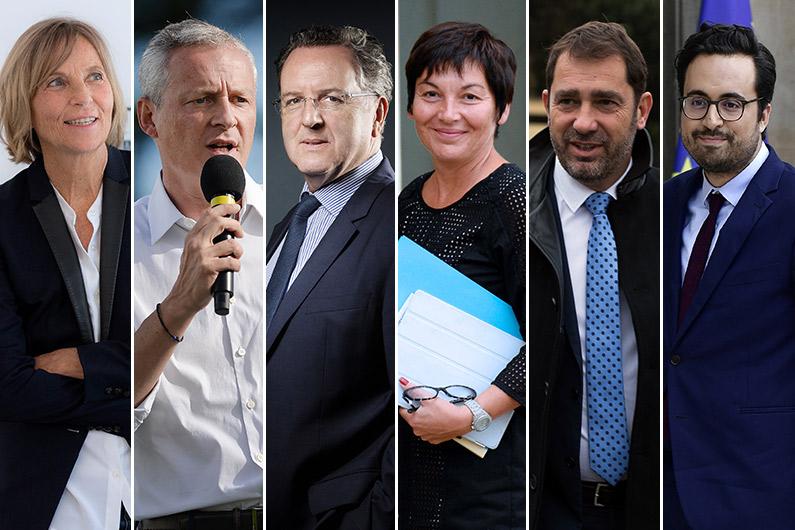 Six ministres jouent leur poste au sein du gouvernement.
