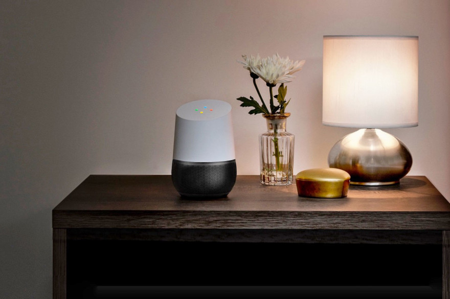 Google va lancer sa borne intelligente Google Home en France