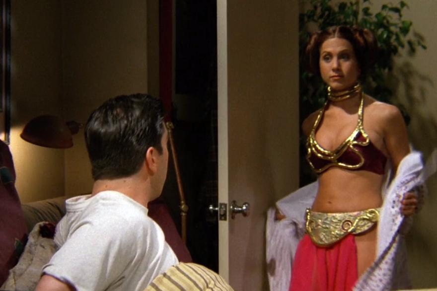 Le fantasme de Ross ? Un jeu érotique sexuelle avec princesse Leia.