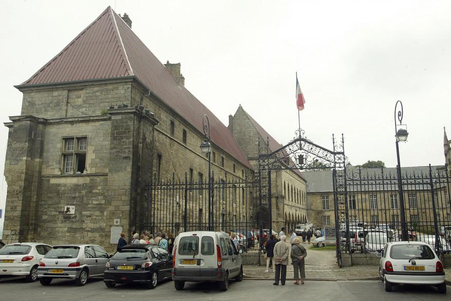 Le palais de justice de Laon