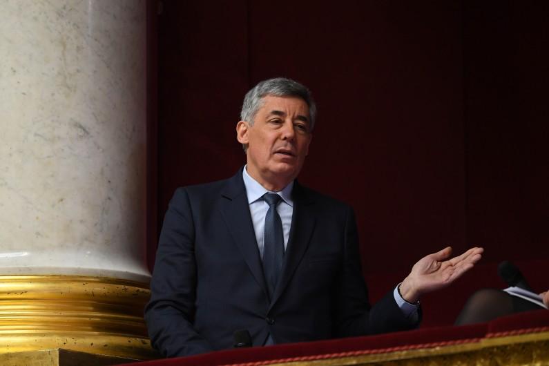 Henri Guaino, candidat dissident Les Républicains, a été battu à Paris le 11 juin 2017