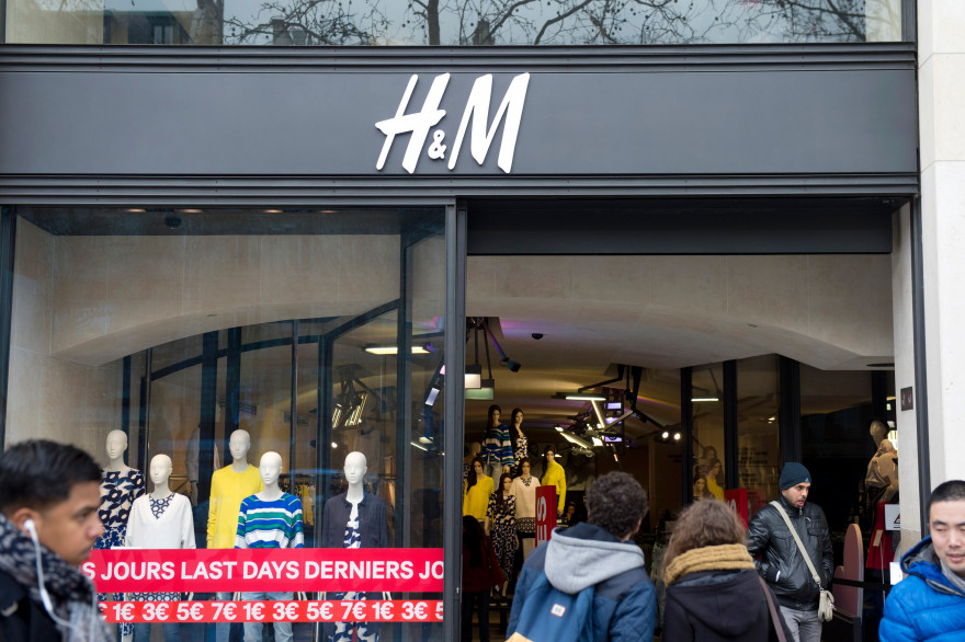 Une boutique H&M (photo d'illustration)