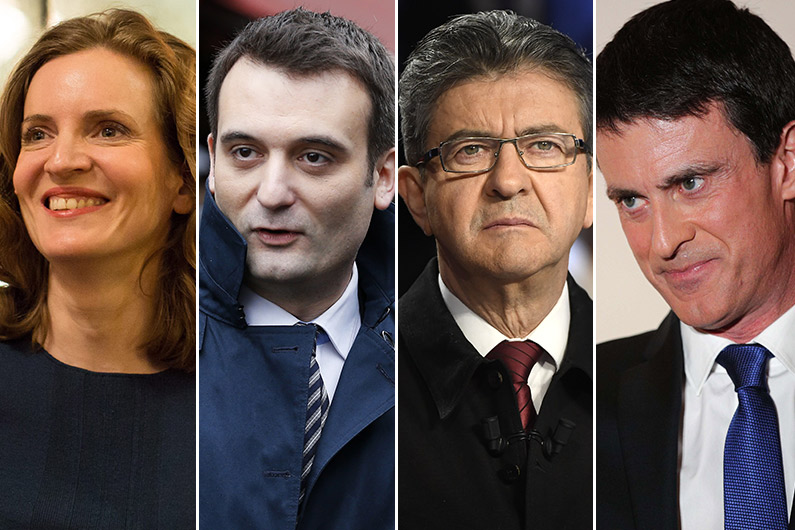 Nathalie Kosciusko-Morizet, Florian Philippot, Jean-Luc Mélenchon, Manuel Valls... autant de personnalités à surveiller au second tour des élections législatives.