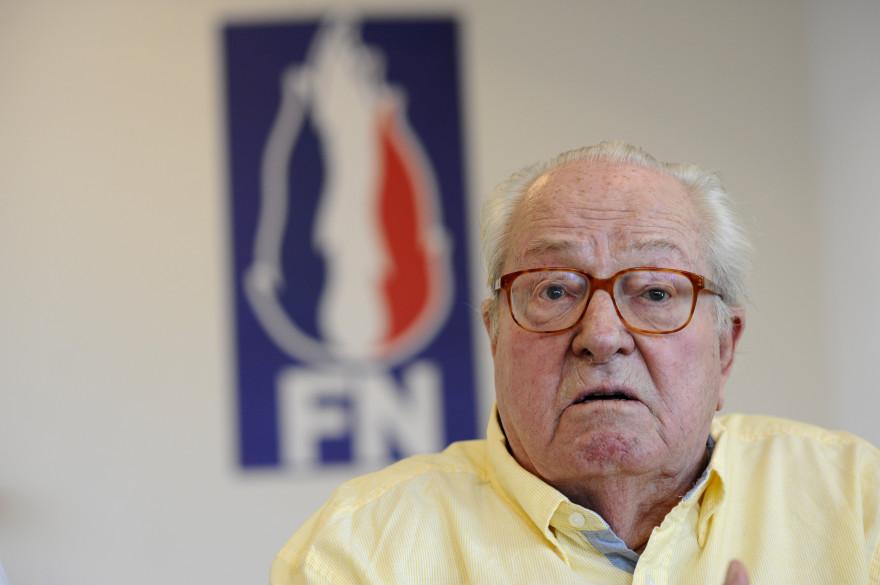 Jean-Marie Le Pen, le président d'honneur du FN