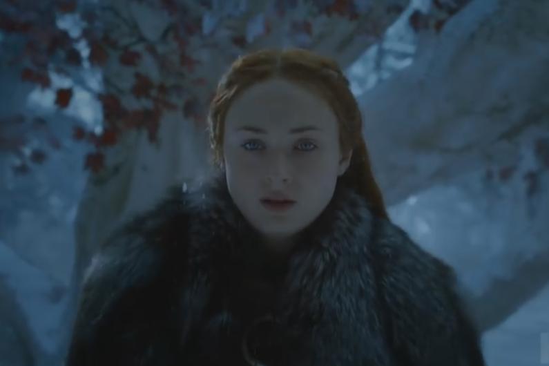 """Le nouveau trailer de """"Game of Thrones"""" s'ouvre sur la détermination de Sansa"""