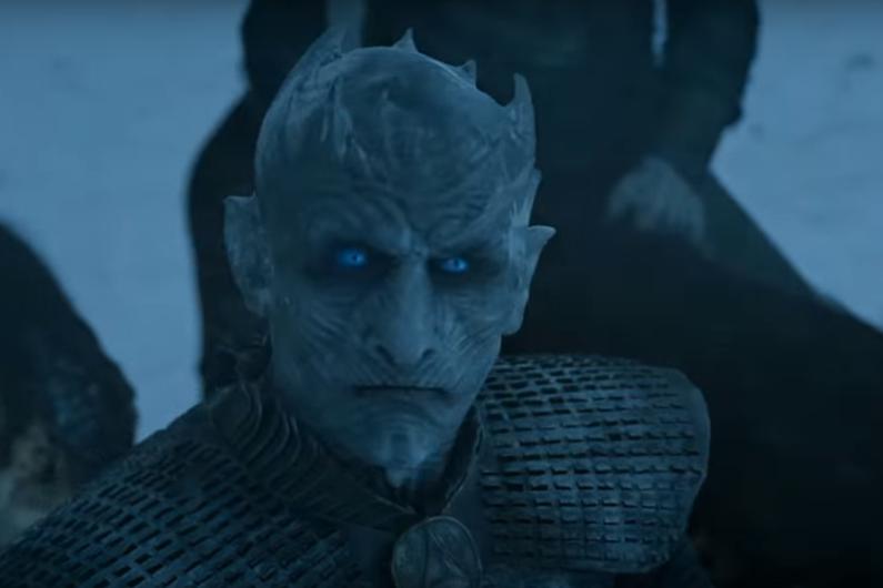 """Le Roi de la Nuit dans le nouveau trailer de """"Game of Thrones"""""""