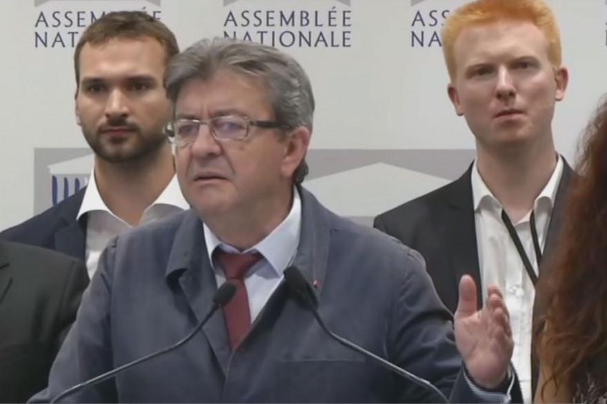 Jean-Luc Mélenchon le 29 juin 2017