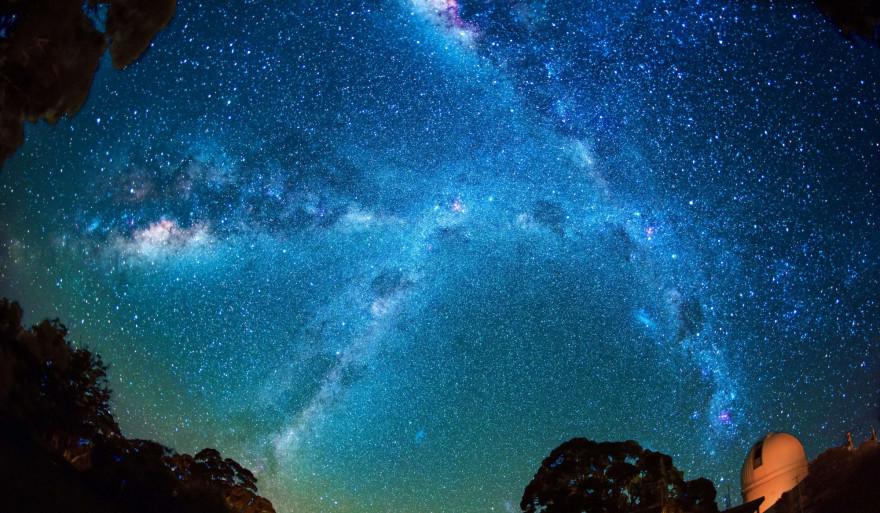 La Voie Lactée au-dessus de Siding Spring, en Australie