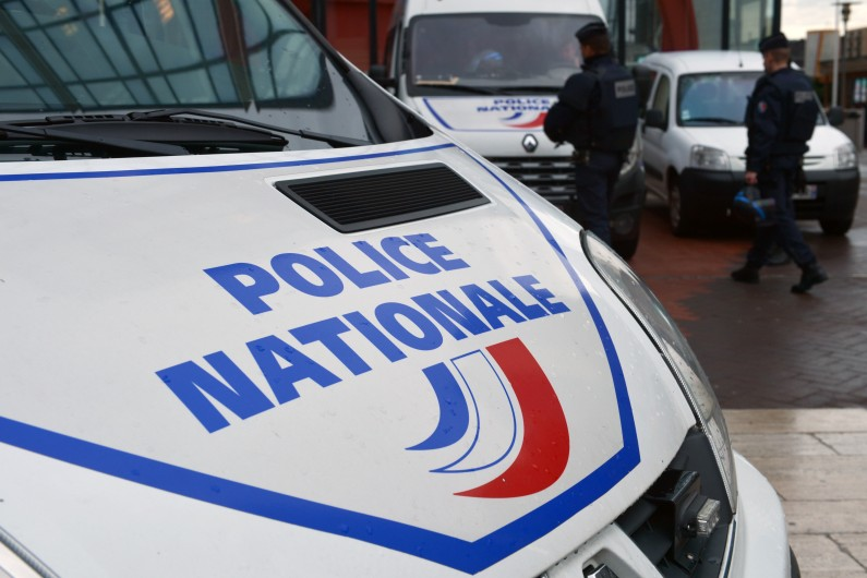 Un véhicule de la police nationale (Illustration)