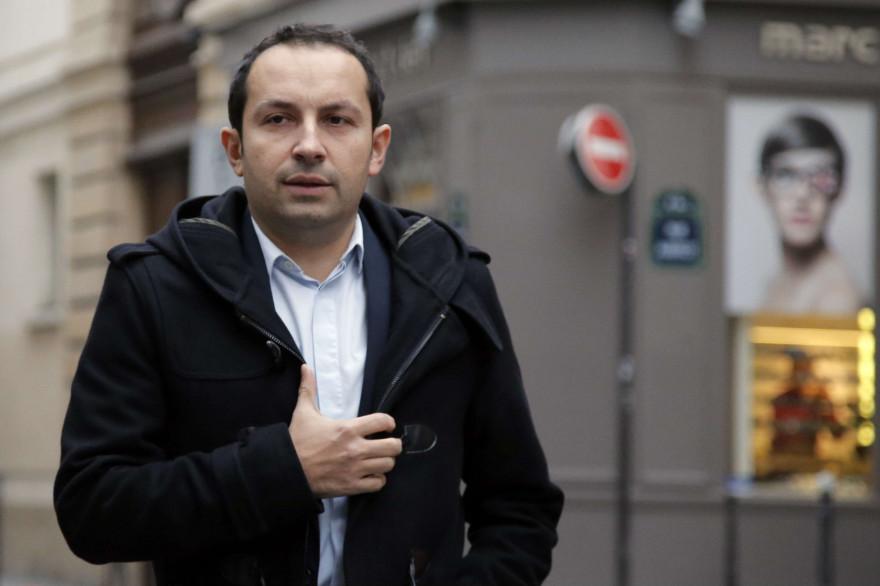 Le député (FN) Sébastien Chenu à Paris le 6 janvier 2015.
