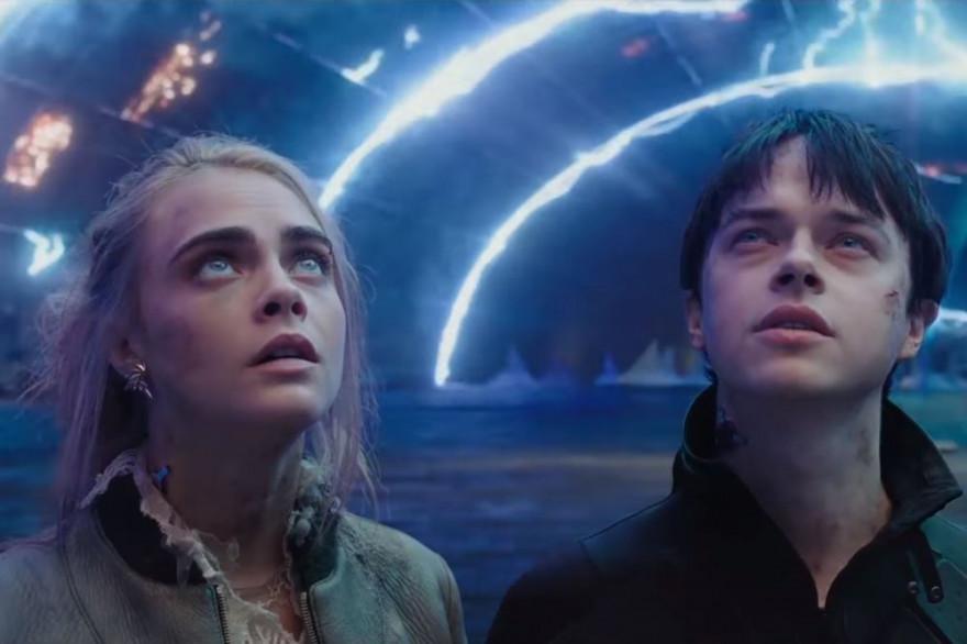 Laureline (Cara Delevingne) et Valérian (Dane DeHaan) sont les héros du prochain film de Luc Besson