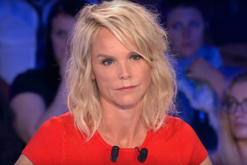 """Vanessa Burggraf dans """"On n'est pas couché"""""""