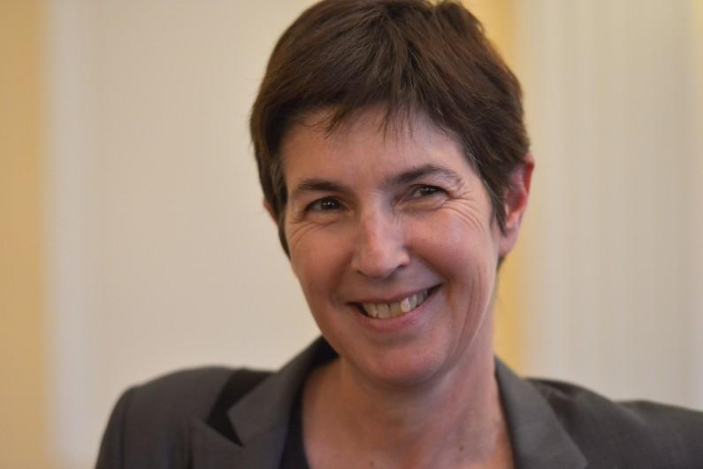 Christine Angot en 2015