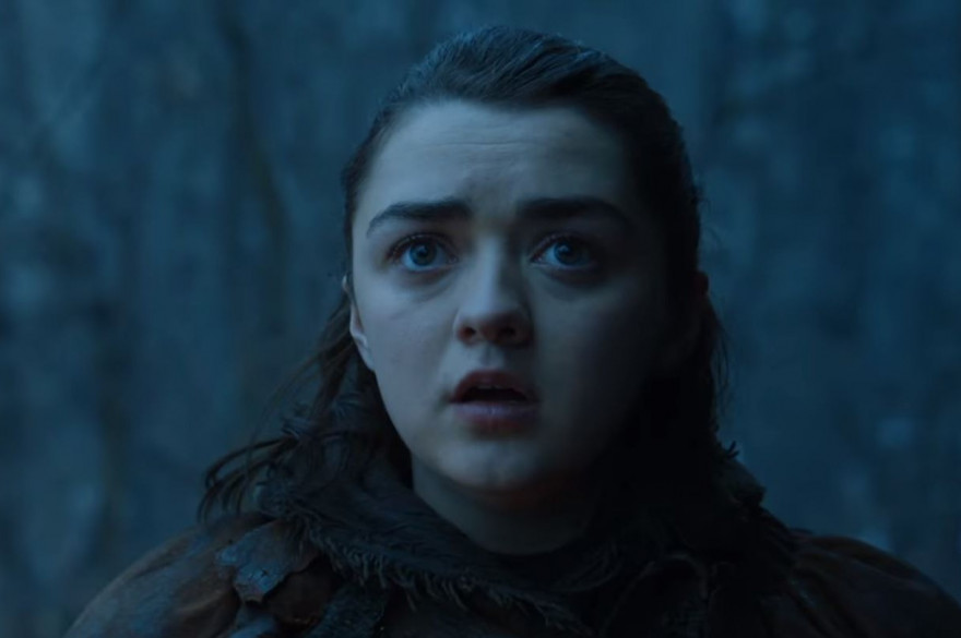 "Arya Stark dans l'épisode 2 de la saison 7 de ""Game of Thrones"""