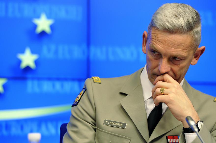 François Lecointre, nouveau chef d'état-major des armées, le 5 mars 2013 à Bruxelles