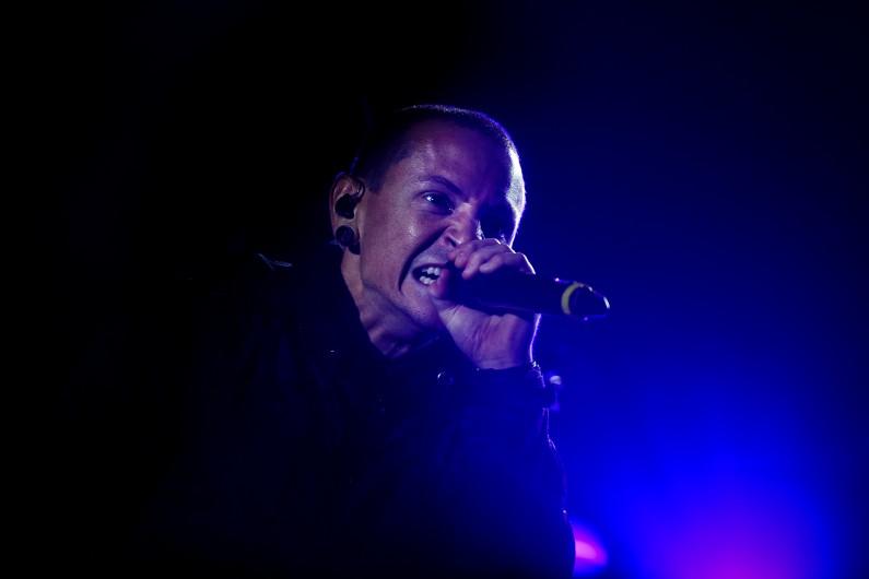 Chester Bennington, chanteur de Linkin park
