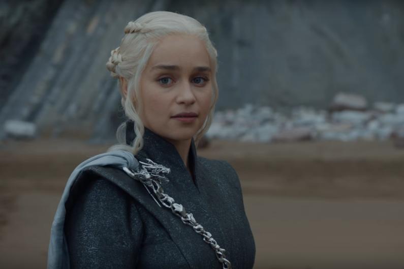 """Daenerys dans l'épisode 4 de la saison 7 de """"Game of Thrones"""""""