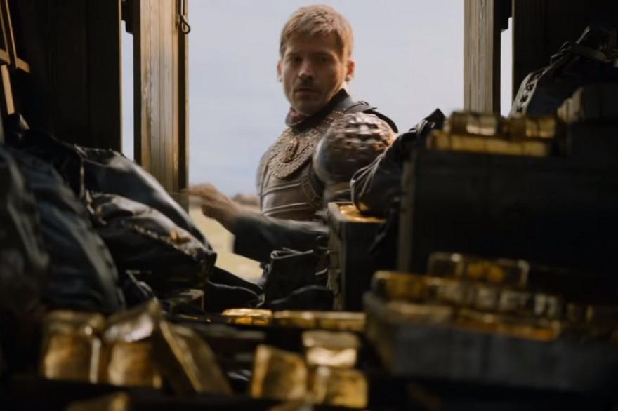 Jaime Lannister et l'or des Tyrell
