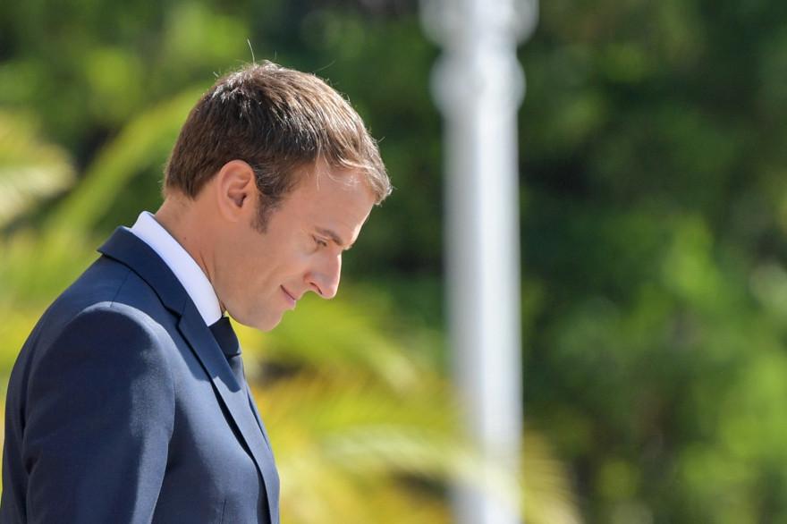 Emmanuel Macron en Bulgarie, le 25 août 2017