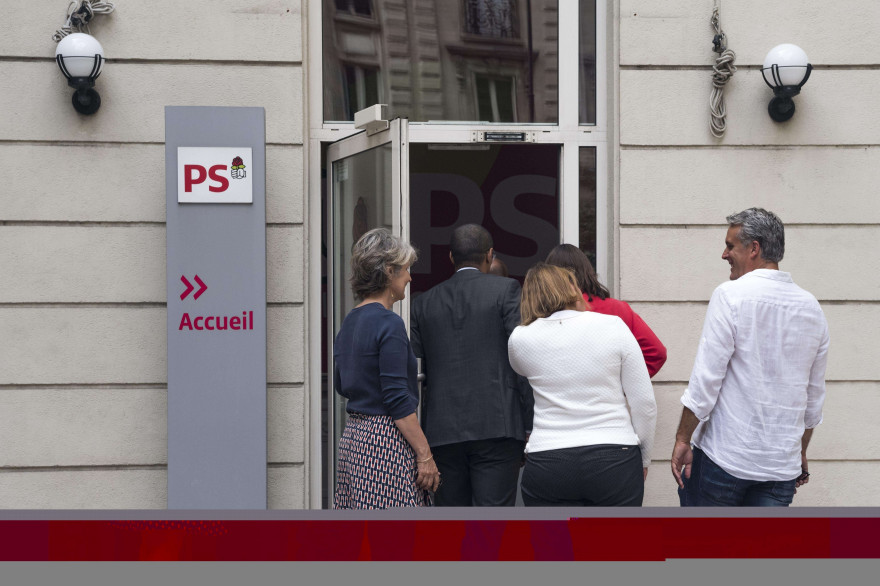Le siège du Parti socialiste, rue de Solférino, le 17 juillet 2017 (illustration)