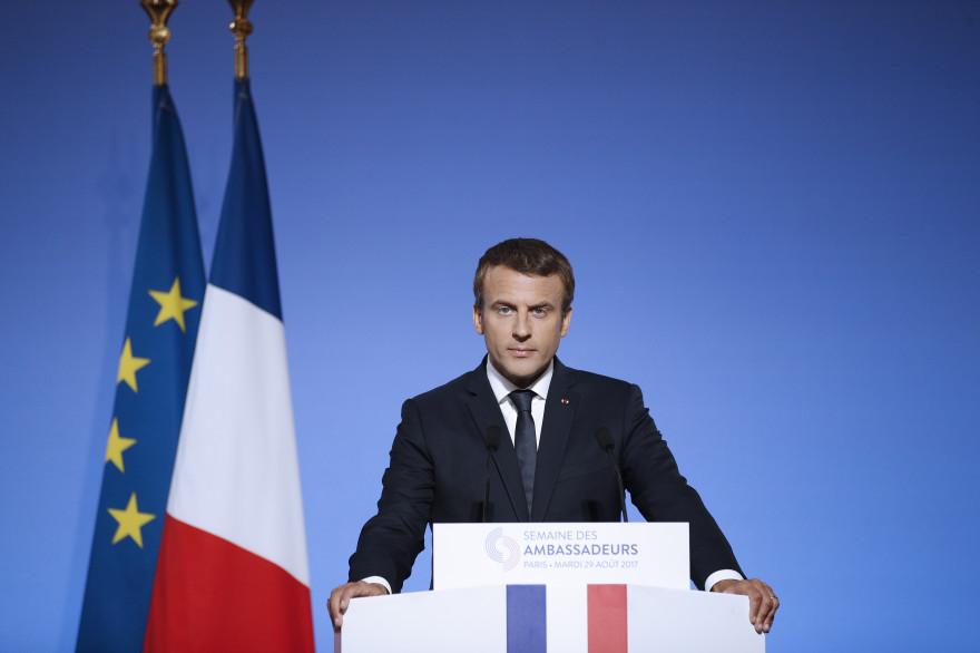 Emmanuel Macron, le 29 août 2017