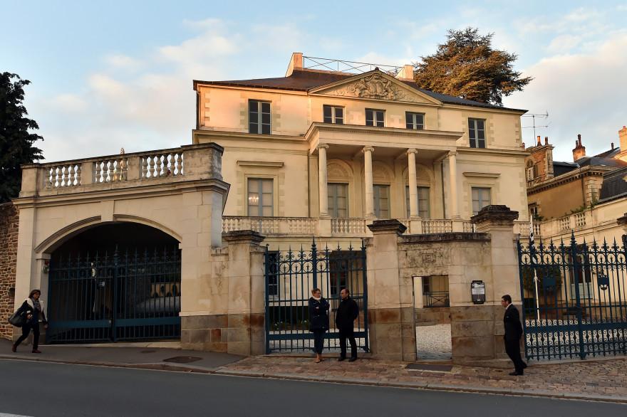 Le Conseil régional de Bretagne le 15 octobre 2015.