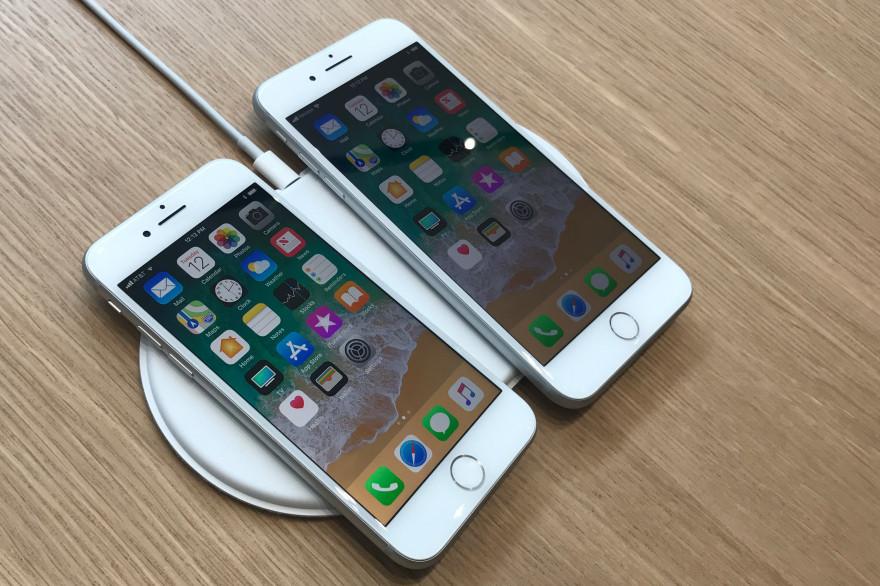 Les iPhone 8 et 8 Plus ont été présentés le 12 septembre au campus d'Apple de Cupertino.