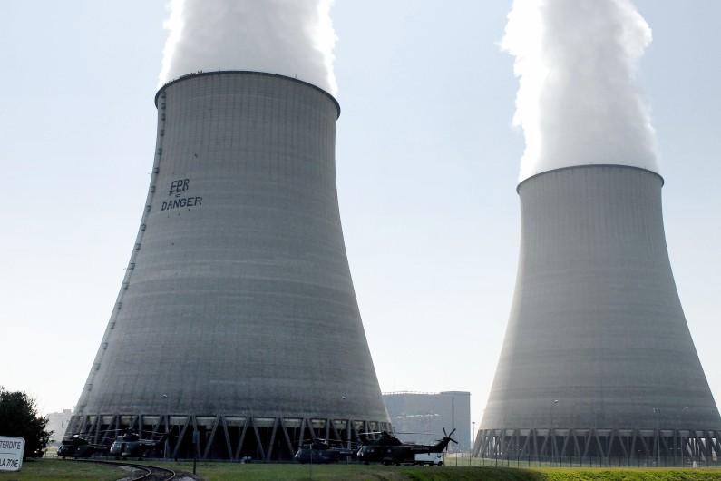 La centrale nucléaire de Belleville-sur-Loire dans le Cher
