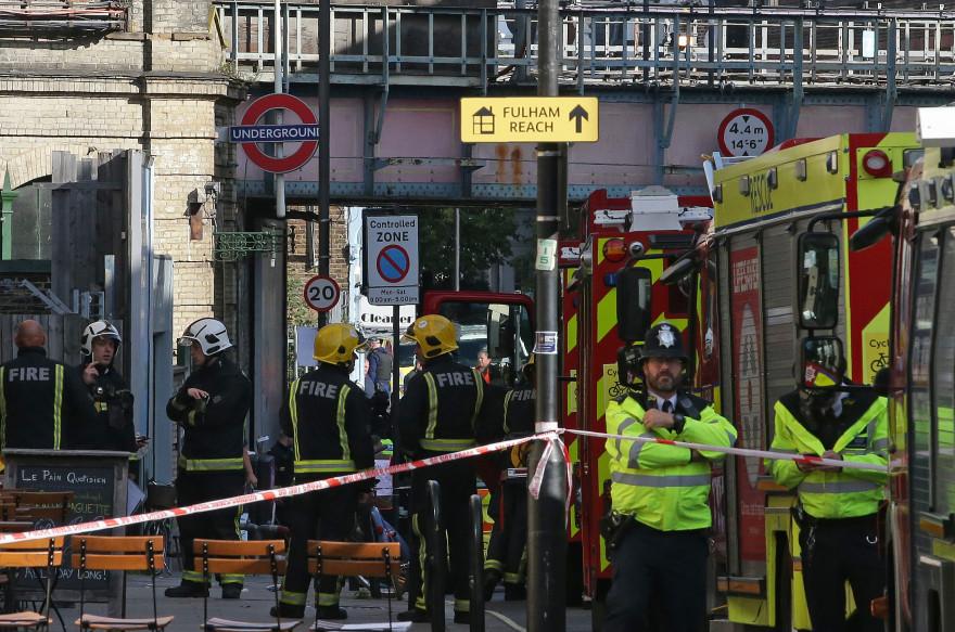Un attentat dans le métro londonien a fait plusieurs blessés le 15 septembre 2017