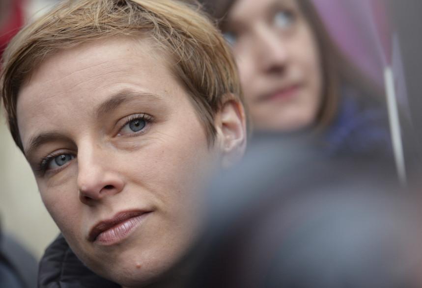 Clémentine Autain, députée France Insoumise de Seine-Saint-Denis.
