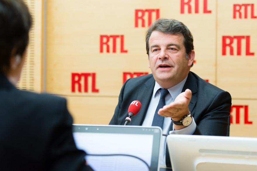Thierry Solère, invité de RTL le 4 octobre 2017