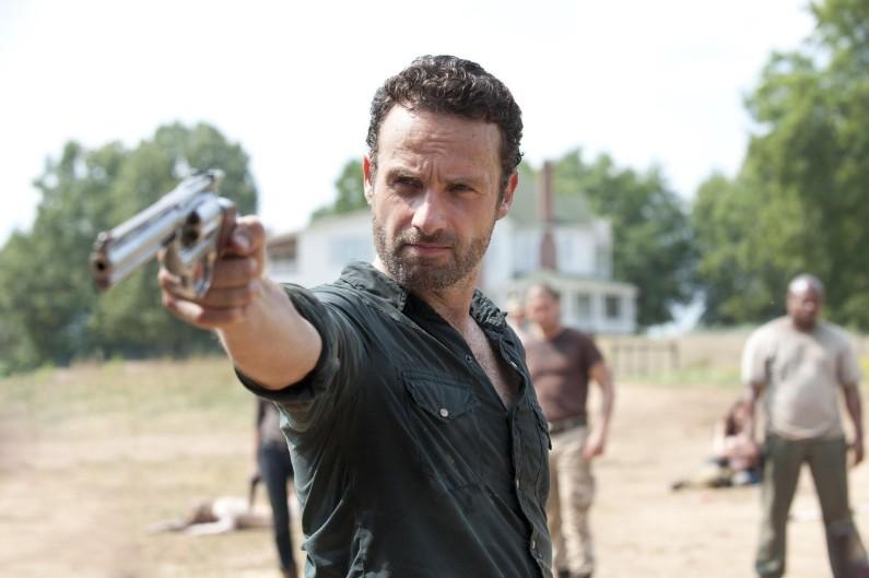 Rick est le leader des Communautés alliées contre Negan